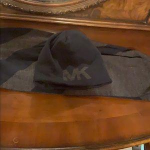 Michael Kors beanie/scarf combo